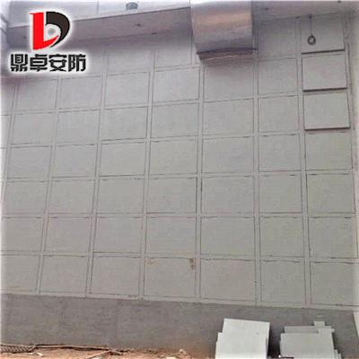 铝制可拆卸泄爆墙