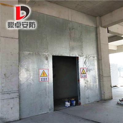 抗爆墙板设计标准及构造