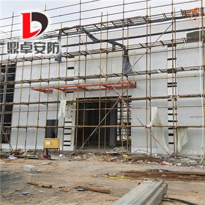 防爆泄压墙防渗漏工艺成熟的外墙系统