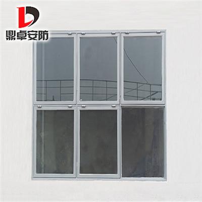 鼎卓泄爆窗厂家为大庆炼油厂建筑施工安装