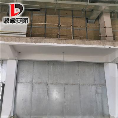 鼎卓抗爆墙为信阳建筑现场安装施工